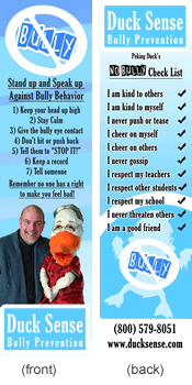 bully prevention bookmarks